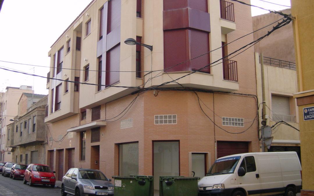 Edificio de viviendas calle Salud