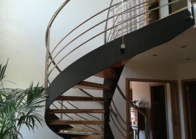 Espiral en rotación
