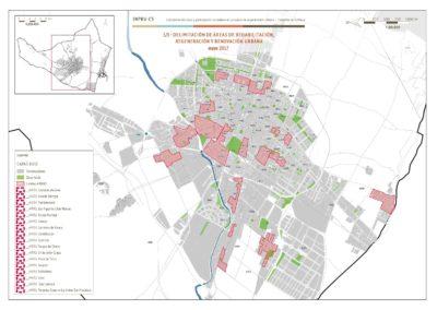 Regeneración urbana: Delimitación de ARRU